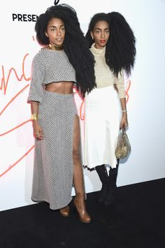 Pin for Later: 24 Black Fashion Icons Who Totally Own Their Signature Style TK and Cipriana Quann Black Girl Fashion, Bold Fashion, Star Fashion, Fashion Show, Black Girls Rock, Black Girl Magic, African Beauty, African Fashion, Quann Sisters