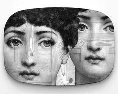 I would - 10 x 14 Melamine Platter, original design with famous Cavalieri engraving on Melamine Plate, Cavalieri art, Lina Cavalieri theme