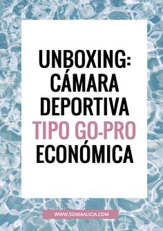 Unboxing de la cámara deportiva MOBO Sport 4k