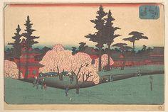 Utagawa Hiroshige   Ueno Toezan no Zu   Japan   Edo period (1615–1868)   The Met