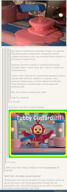 When vegan scare tactics go wrong :( Funny tumblr post