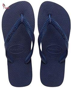 Havaianas Top Tongs Femme - Bleu (Navy Blue 0555), 45/46 EU  ( 43/44 Brazilian) - Chaussures havaianas (*Partner-Link)