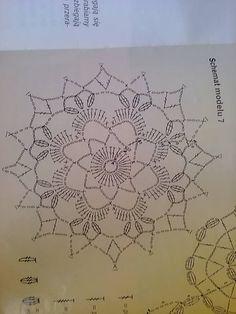 stefania perissinottos - Her Crochet Art Au Crochet, Crochet Tree, Crochet Leaves, Crochet Stars, Thread Crochet, Crochet Doilies, Crochet Flowers, Crochet Snowflake Pattern, Crochet Motif Patterns