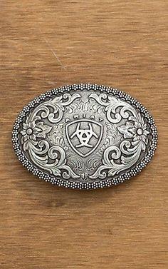 Western Boucle de ceinture 40mm buffle motif western Buckle