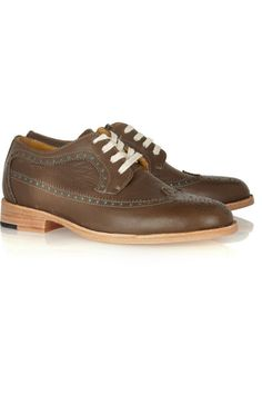 Esquivel The Wing Tip leather brogues