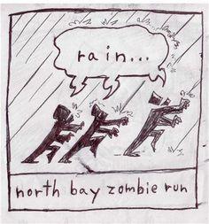 'NORTH BAY ZOMBIE RUN' by Adam Beanish