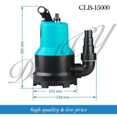 15000L/H 220V Pond Water Submersible Pump for Home Building #Affiliate