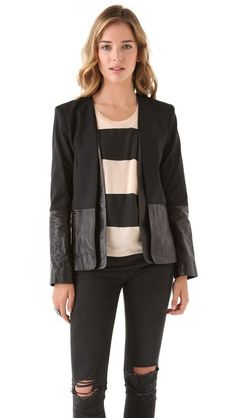 obsessed with this @ParkerNewYork jacket #GetInMyCloset