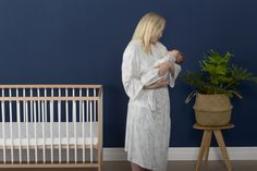 Mummy Bamboo Robe to match our NEW Bamboo newborn (new 0000 size) – 12 month old Swaddles & Layers range. We've listened to our customers and Mum's are wanting a matching robe for their first special photograph with their newborn Nature Collection, Dress