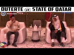 PRRD HEADLINES | PRESIDENT DUTERTE ARRIVAL IN DOHA QATAR | APRIL 14-16 2017 - YouTube