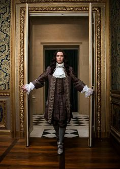 Alexander Vlahos as Monsieur Philippe Duc D'Orleans in season 2 of Versailles