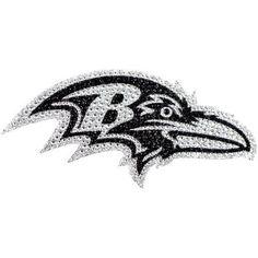 NFL Baltimore Ravens Bling Emblem, Multicolor