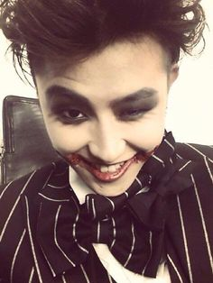 It's Halloween soon. That's my excuse for pinning this picture anyway.xD #BlockB #Ukwon #YuKwon #kpop