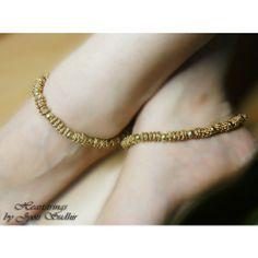 Golden anklet