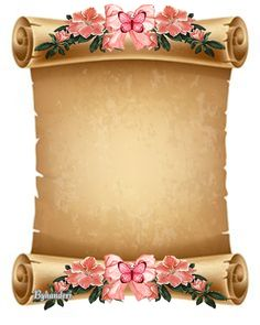 Borders For Paper Flower Background Wallpaper, Flower Backgrounds, Paper Background, Frame Border Design, Page Borders Design, Old Paper, Vintage Paper, Paper Paper, Molduras Vintage