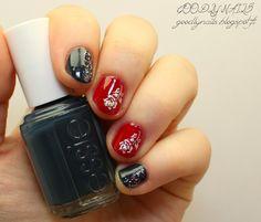 Goodly Nails: Ruusutarroja