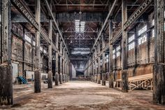 Deserted Places: Inside the abandoned Domino Sugar Refinery in New York (Paul Rahpaelson/sploid.gizmodo.com)