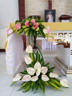 Creative Flower Arrangements, Arte Floral, Garden Projects, Flamingo, Decor Ideas, Table Decorations, Home Decor, Large Flower Arrangements, Floral Design