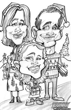 Express Yourself this Christmas with a Caricature from FunkyCartoon.com (A Review & Giveaway!) : Ottawa Mommy Club – Moms and Kids Online Magazine#comment-447812#comment-447812
