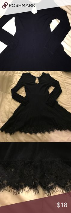 Navy long sleeve dress Navy long sleeve dress Dresses