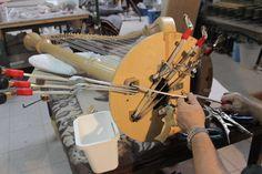 Harp repair