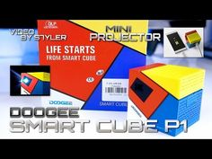 Doogee Smart Cube P1 DLP Projector (Test & Unboxing) WiFi, Miracast, USB, BT, 4800mAh // by s7yler - YouTube Mobile Projector, Hd 1080p, Wifi, Cube, Coding, Youtube, Portable Projector, Youtubers, Programming