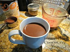 Owen Family Six: Spicy Hot Chocolate Tea with chai spice mix recipe