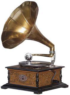 musica é vida: gramofone