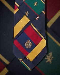 "3bef7a2363 Polo Ralph Lauren on Instagram  """"A tie is the most personal accessory a  man can choose. I hope these ties inspire your style in a very personal way."