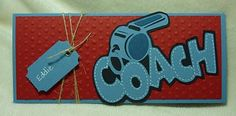 Coach card using Sports Mania Cartridge