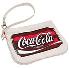 Coca-Cola Wristlet in Recycled Material