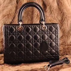 Womens black leather shoulder bag $149.00