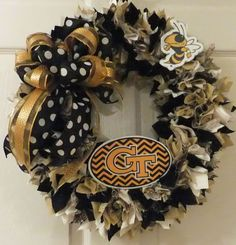 Georgia Wreath Team Spirit Wreath Georgia by PJCreativeWreaths, $56.00