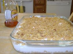 "Fried Ice Cream Dessert:  ""I came across this recipe...It looked easy enough so I made it one weekend. OH...MY...GOSH!!! It tastes JUST like the fried ice cream you'd get at the restaurant. I've made it for work friends, family get-togethers, etc. It will be the dish that everyone wants you to bring to everything - and bring a copy of the recipe because otherwise you'll be repeating it 75 times.""~blogger"
