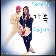 Family. Thunder and Dara!