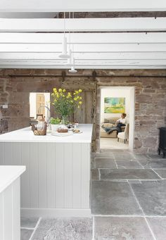 See This Cozy Scottish Kitchen In a Georgian Farmhouse