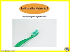 Tooth brushing Mistake No.2 Dr Nease Orthodontics 2455 E. Main Street Spartanburg, SC 29307 (864) 579-7700 #FAQs #Orthodontics #Invisalign #braces #SpartanburgOrthodontist