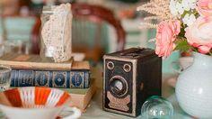 Mariage vintage déco objets anciens