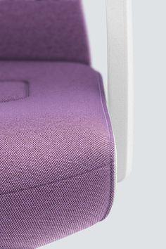 PURE INTERIOR Edition 10 #Lila. Mehr Design für dein #HomeOffice. Mit einer vielfältigen und hochwertigen Stoffauswahl und ihrem ergonomischen Design vereint die PURE INTERIOR Edition bequemes und ergonomisches Sitzen. Das Design und die Farbgebung des PURE machen ihn zu einem optischen Leichtgewicht. Farblich abgestimmt bringt er sich in das Home Office ein und kann sich gleichzeitig zurücknehmen. #schreibtischstuhl #design #interiordesign #Stoff #ergonomie #interstuhl Home Office, Pure Home, Interiordesign, Google Home, Designer, Pure Products, Lilac, Colors, Office Home
