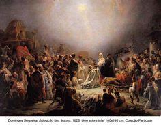 No Museu Nacional de Arte Antiga, em Lisboa, pode ver até 30 de Março a Adoração dos Magos de Domingos Sequeira. Sendo uma das mais significativas pinturas da História da Arte portuguesa, pode ver ...