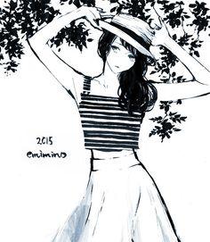 emimino : 夏服が着たい