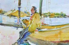 Charles Reid, Gloucester Fishermen - The Munson Gallery