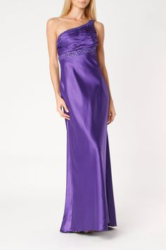 Dave and Johnny Lucia Dress In Purple - 89.99