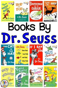Over 60 Seusstastic Books by Dr. Seuss for Reading Month