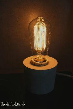 DIY une lampe en béton Prêt à créer !