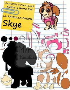 Tienes todos los personajes de La Patrulla Canina en http://www.mamaeva.net