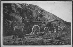 Horse carriage with coachman, Lysekil, Sweden by Swedish National Heritage Board, via Flickr