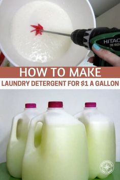 How To Make Liquid Laundry Detergent – Homestead Survival Site All You Need Is, Just In Case, Cleaning Recipes, Cleaning Hacks, Diy Hacks, Homemade Cleaning Supplies, Laundry Detergent Recipe, Homemade Laundry Soap, Homemade Washing Detergent