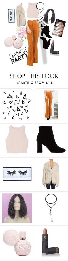 """Gotta have pants to dance"" by paigeypig ❤ liked on Polyvore featuring Nika, SemSem, Yves Saint Laurent, Huda Beauty, C&C California, Vanessa Mooney and Lipstick Queen"