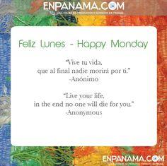 Live your life ... Vive tu vida...| #PANAMA #EnPanama #TRAVEL #VIAJES #QUOTES #CITAS https://www.facebook.com/en.panama  EnPanama.com